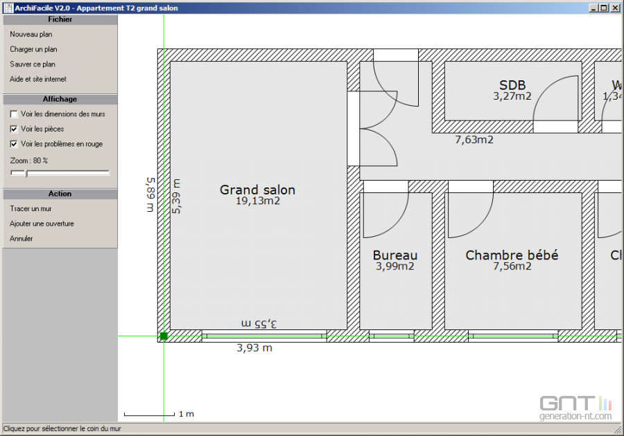 Porte garage plan maison fran ois fabie for Rona garage plans