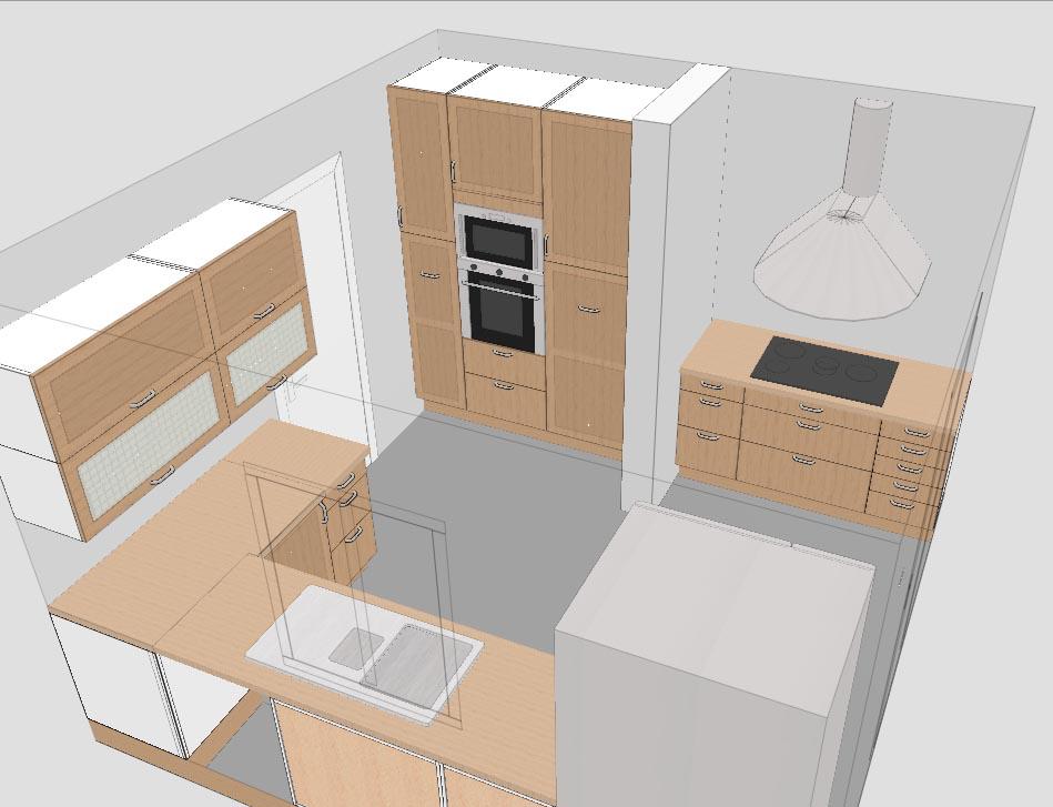 faire plan cuisine maison fran ois fabie. Black Bedroom Furniture Sets. Home Design Ideas
