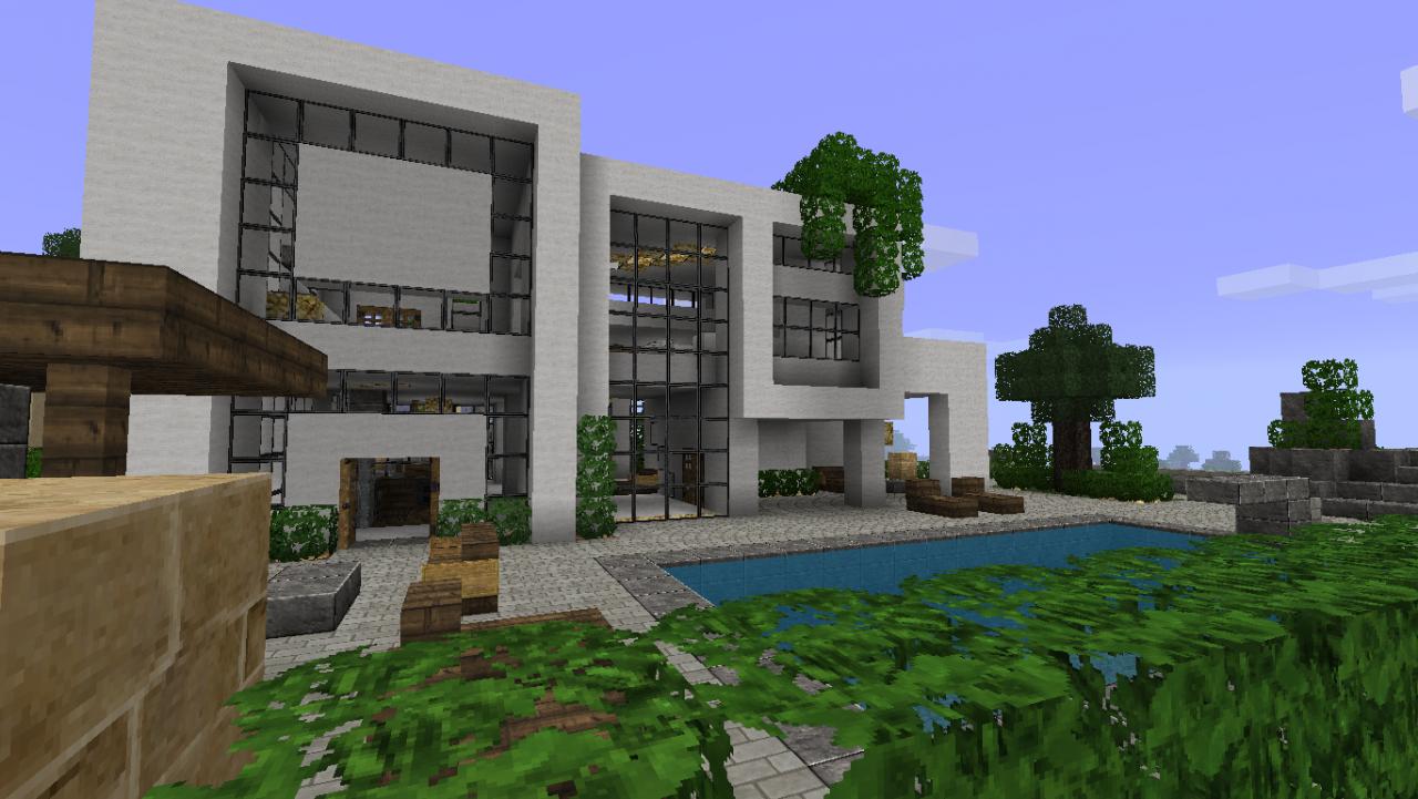 construire maison minecraft