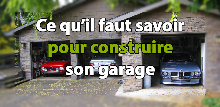 Construction Garage Voiture - Maison François Fabie