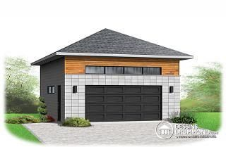 Dessiner plan garage double maison fran ois fabie for Rona garage plans
