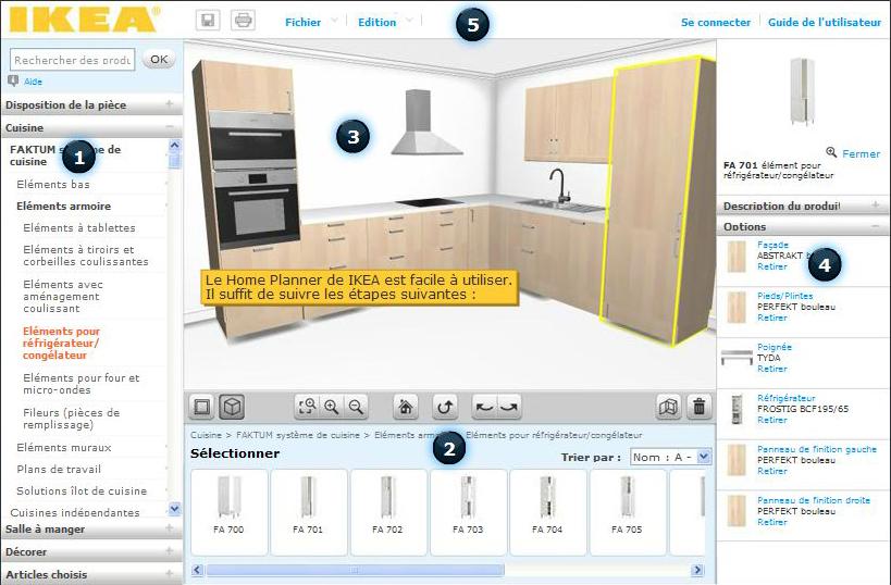 logiciel pour concevoir sa cuisine maison fran ois fabie. Black Bedroom Furniture Sets. Home Design Ideas