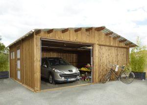 Garage 40m2 maison fran ois fabie for Combien coute un garage en parpaing de 20m2