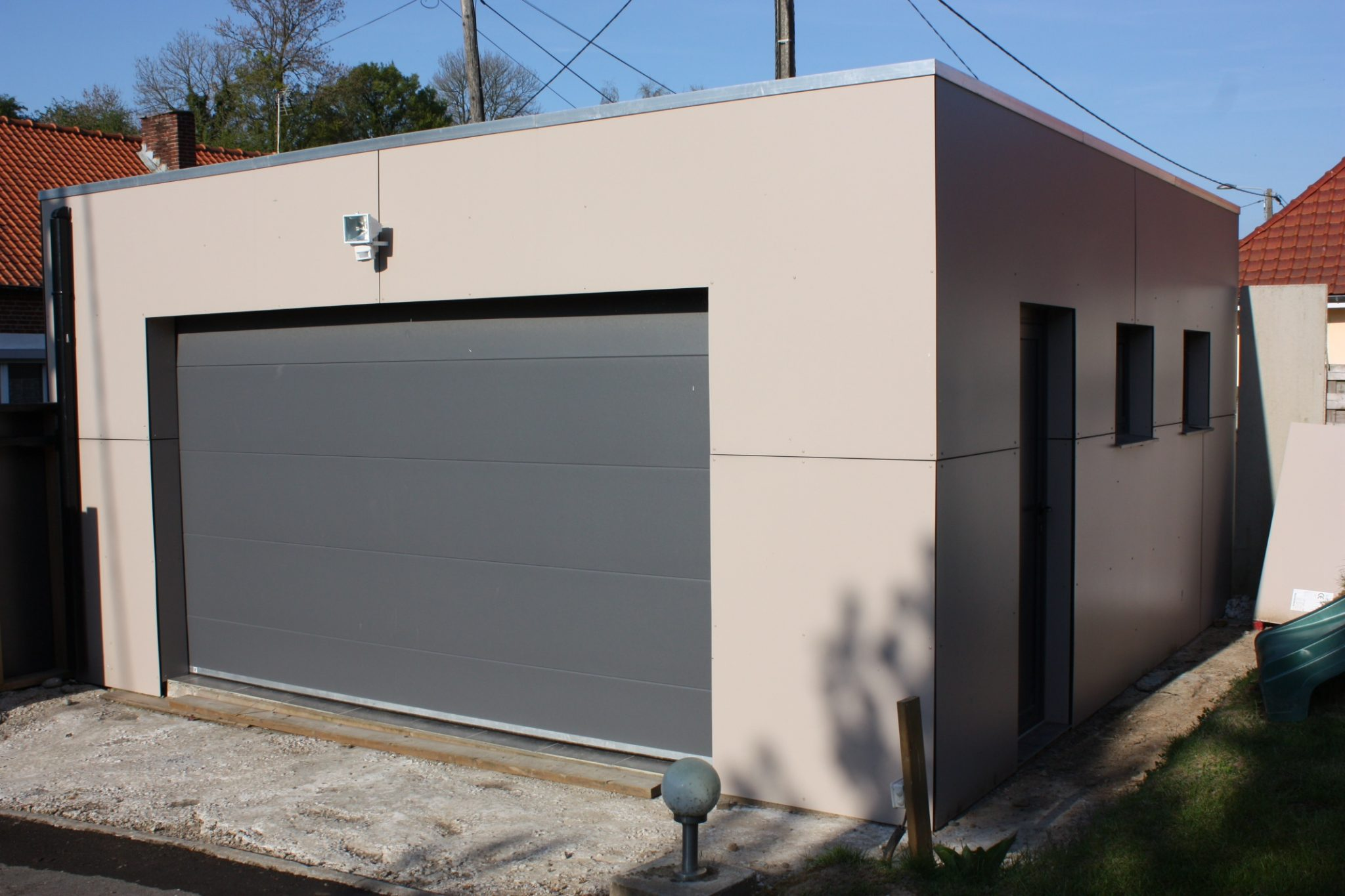 prix garage toit plat maison fran ois fabie. Black Bedroom Furniture Sets. Home Design Ideas