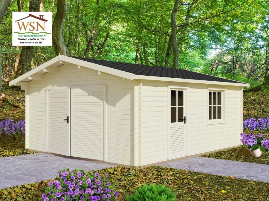 garage bois 30m2 maison fran ois fabie. Black Bedroom Furniture Sets. Home Design Ideas