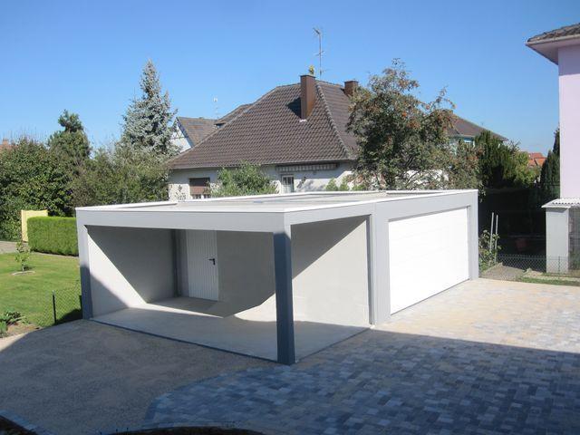 Garage toit plat prix maison fran ois fabie for Prix agrandissement maison 20m2