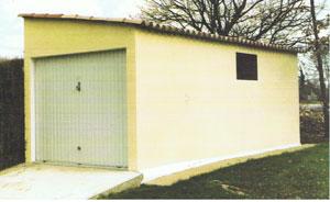 Plan de garage une pente maison fran ois fabie for Double garage parpaing