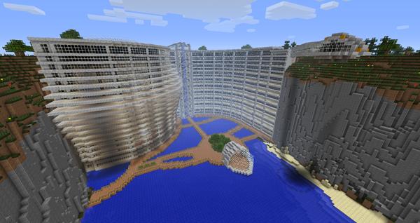 Minecraft les plus belle maison maison fran ois fabie - Belle maison a construire ...