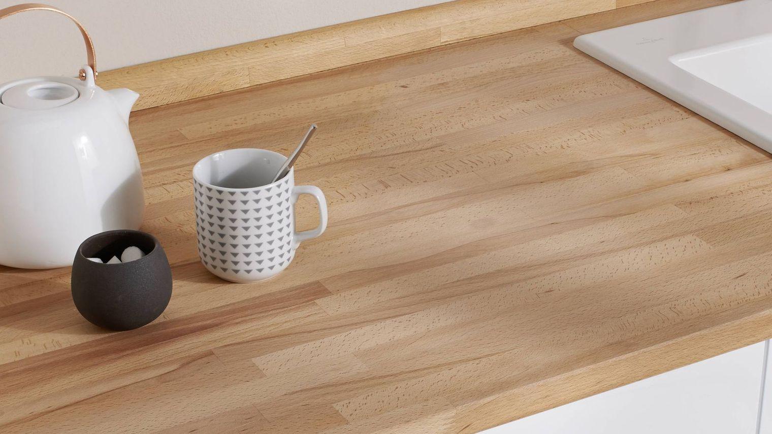 plan de travail bois stratifi maison fran ois fabie. Black Bedroom Furniture Sets. Home Design Ideas