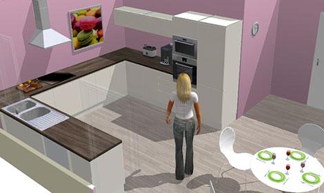 simulateur cuisine maison fran ois fabie. Black Bedroom Furniture Sets. Home Design Ideas