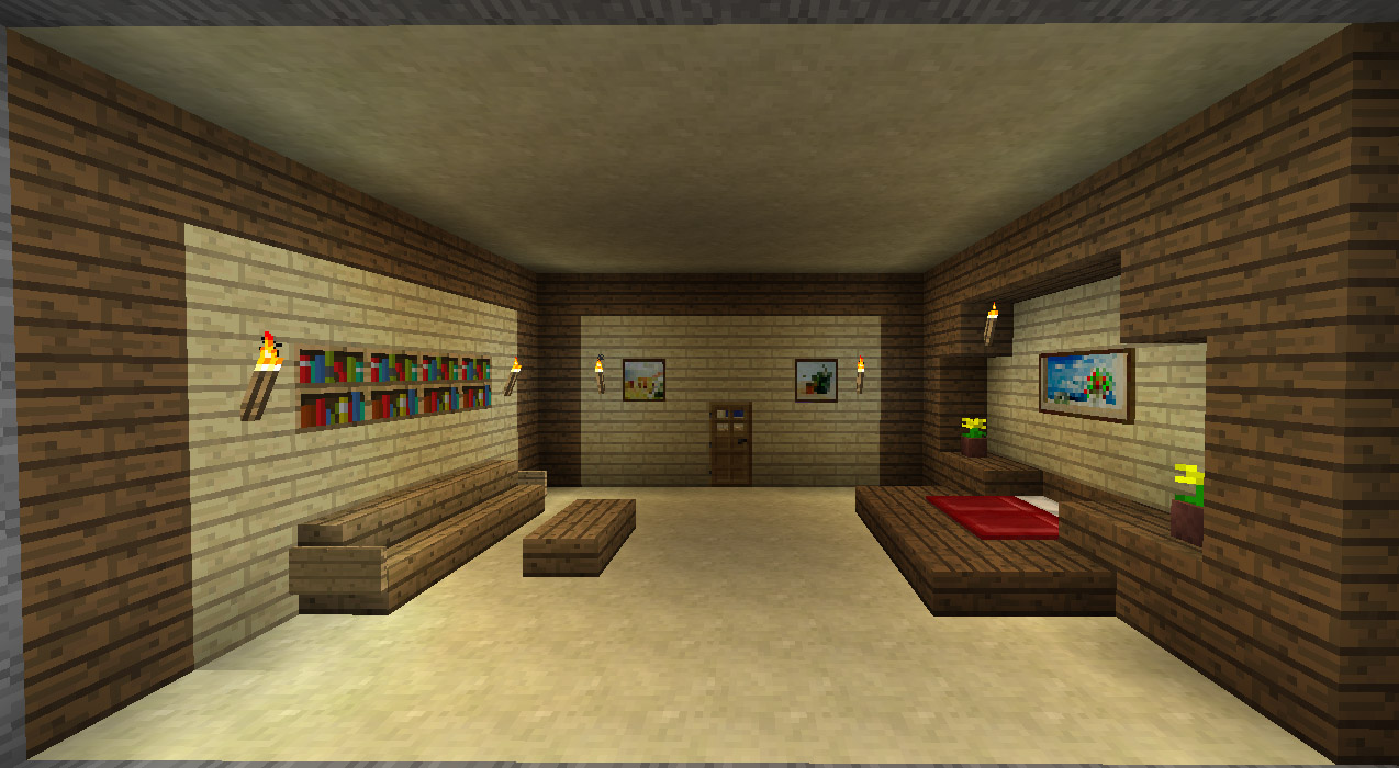 Minecraft interieur de maison maison fran ois fabie for Mode interieur maison 2017