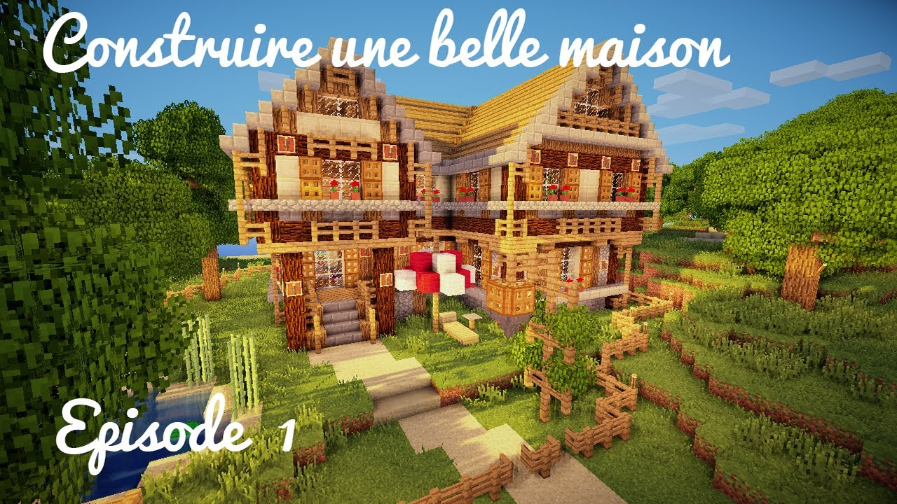 comment faire une petite maison en bois top minecraft belle maison tuto with petite maison en. Black Bedroom Furniture Sets. Home Design Ideas