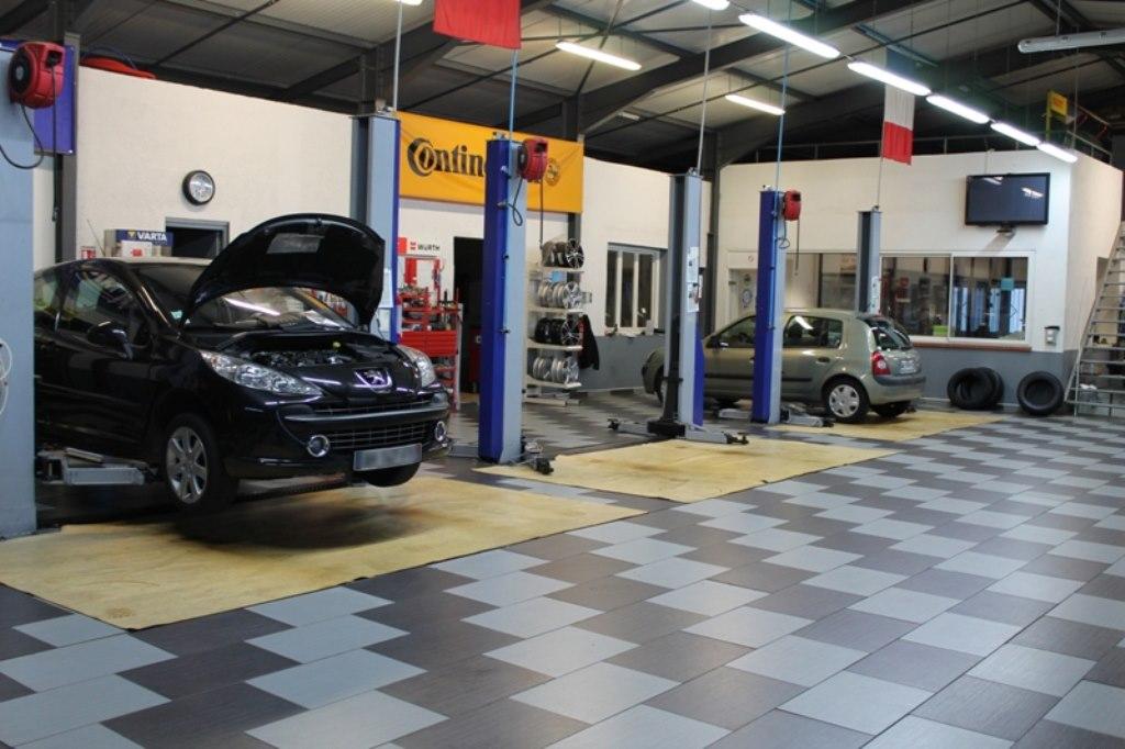 Plan garage mecanique auto maison fran ois fabie for Garage mecanique auto a louer