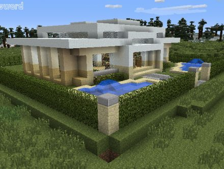 Faire Une Maison Minecraft. Comment Faire Une Maison Simple ...