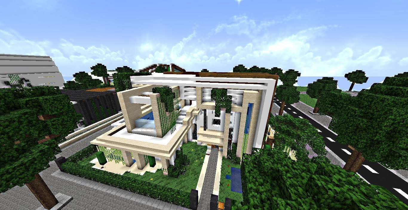 Maison de riche minecraft maison fran ois fabie for Minecraft maison design
