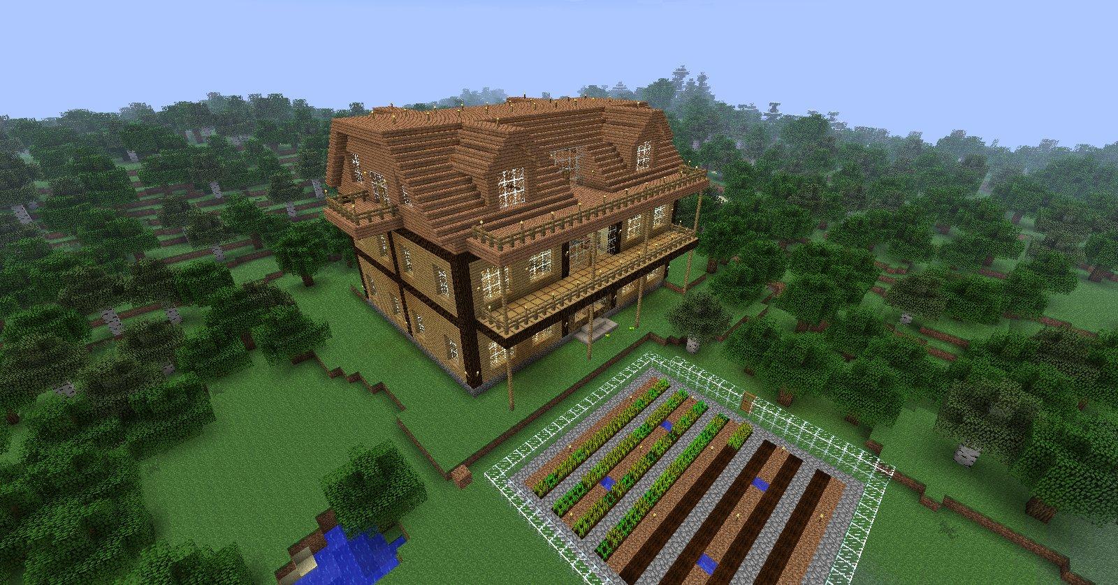 Minecraft Comment Crer Une Belle Maison. Good Minecraft Comment ...