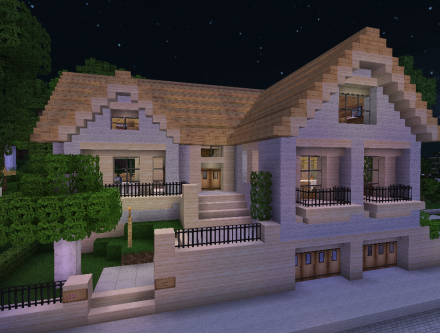 Beautiful Maison De Luxe Moderne Minecraft Gallery - Awesome ...