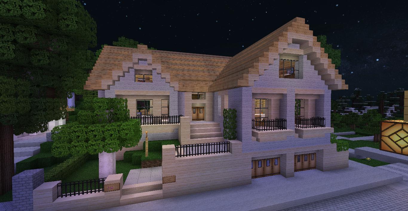 Minecraft Maison Simple Mais Belle