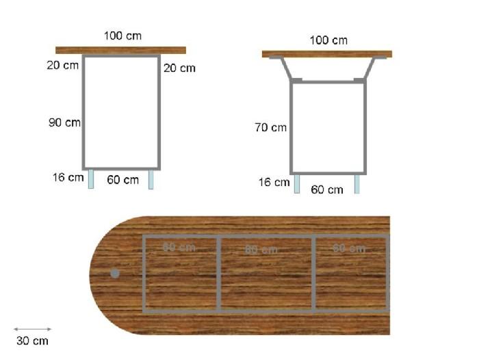 plan pour faire une cuisine maison fran ois fabie. Black Bedroom Furniture Sets. Home Design Ideas