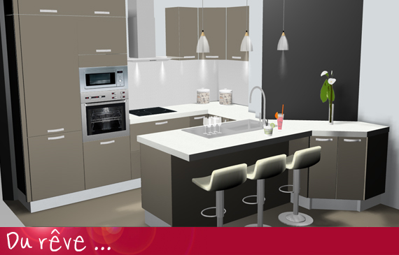 plan de cuisine en 3d maison fran ois fabie. Black Bedroom Furniture Sets. Home Design Ideas
