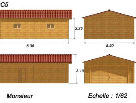 Finest Plan De Garage En Bois Gratuit With Plan De Garage Bois