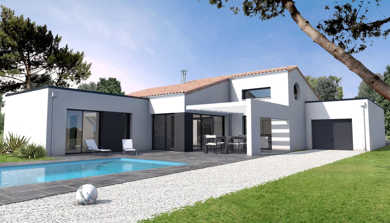Construire une maison contemporaine ventana blog for Cout construire sa maison