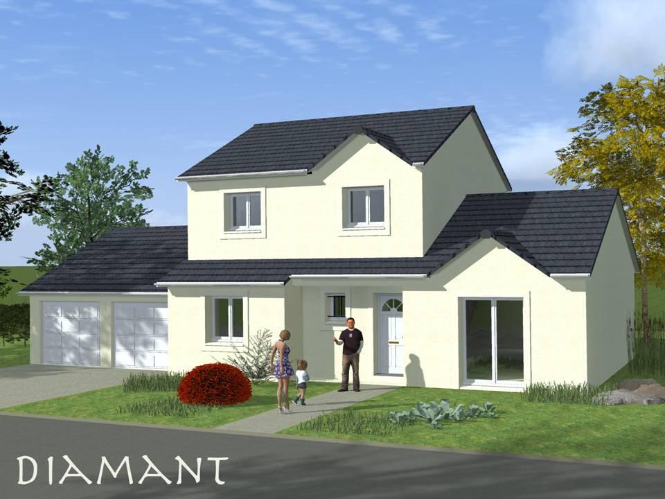 Mod le maison construire maison fran ois fabie for Achat maison neuve 77