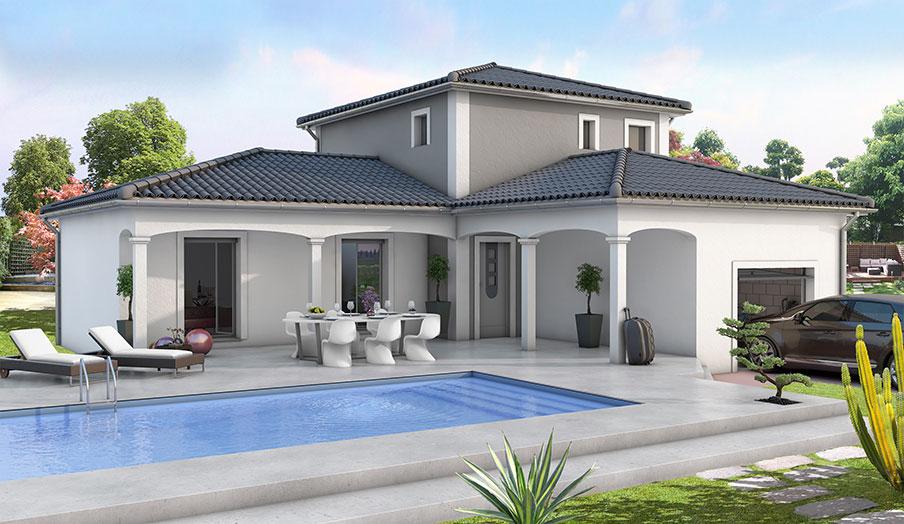 modele de maison a construire maison fran ois fabie. Black Bedroom Furniture Sets. Home Design Ideas