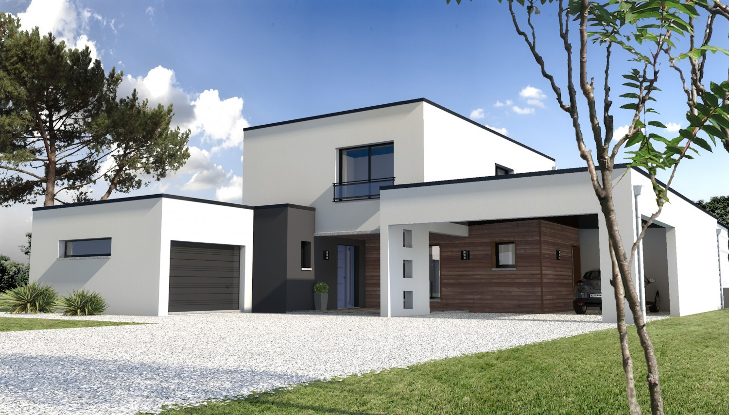 Exceptionnel Maison Moderne Construction