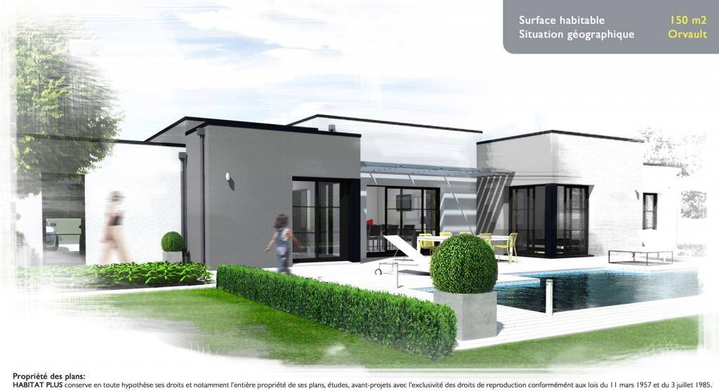 Ideal Construction Maison Contemporaine Toit Plat #TQ94 – HumaTraffin
