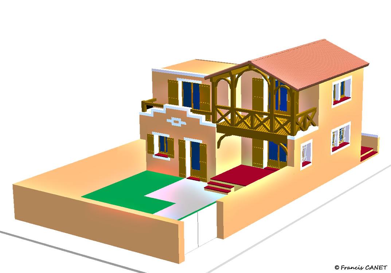 Plans architecturaux des maisons maison fran ois fabie for Acheter des plans architecturaux