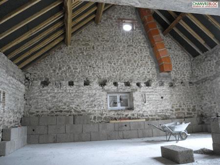 isolation maison en pierre