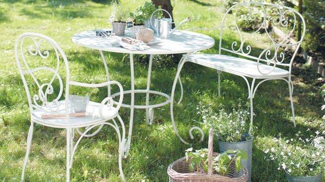 Best Salon Jardin Metal Blanc Ideas - Fernandogalaviz.us ...