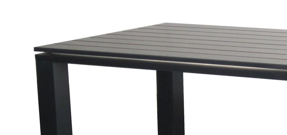 table jardin grise maison fran ois fabie. Black Bedroom Furniture Sets. Home Design Ideas