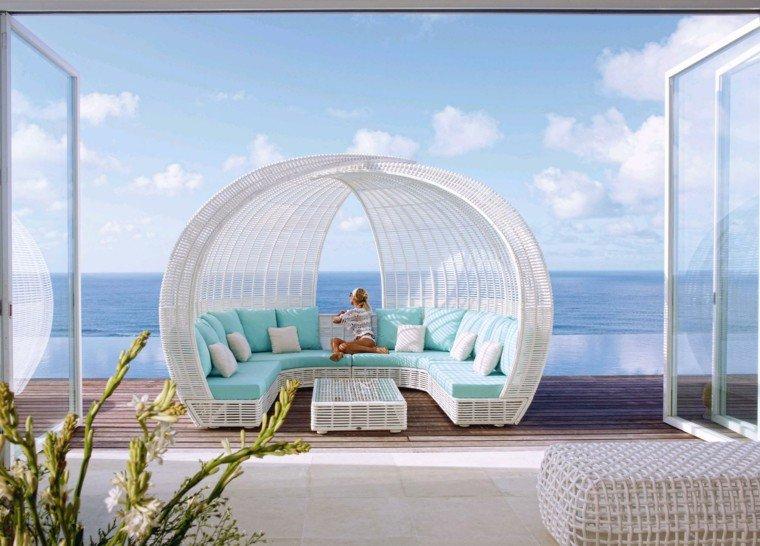 Emejing Salon De Jardin Resine Blanc Design Images - Awesome ...