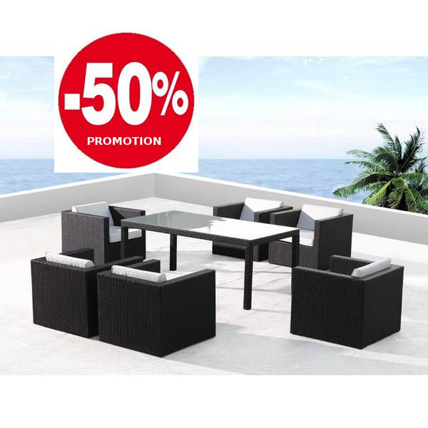 solde table jardin maison fran ois fabie. Black Bedroom Furniture Sets. Home Design Ideas