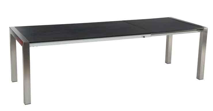table acier jardin maison fran ois fabie. Black Bedroom Furniture Sets. Home Design Ideas