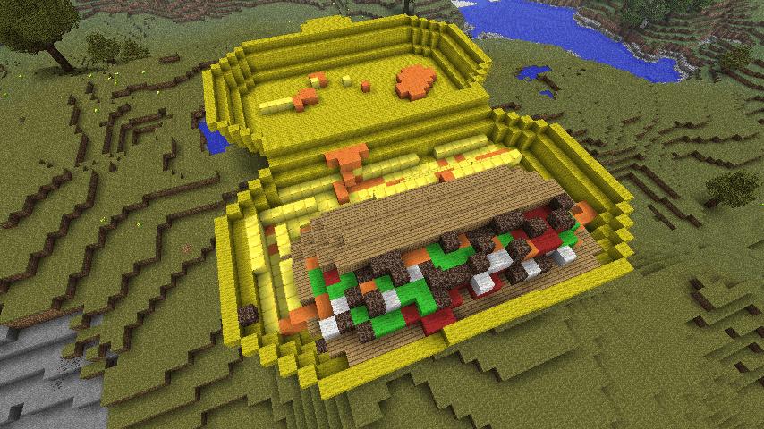 minecraft construction facile maison fran ois fabie. Black Bedroom Furniture Sets. Home Design Ideas
