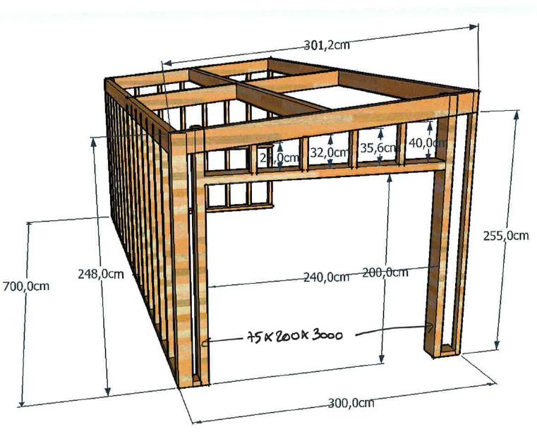 fabriquer garage en bois maison fran ois fabie. Black Bedroom Furniture Sets. Home Design Ideas
