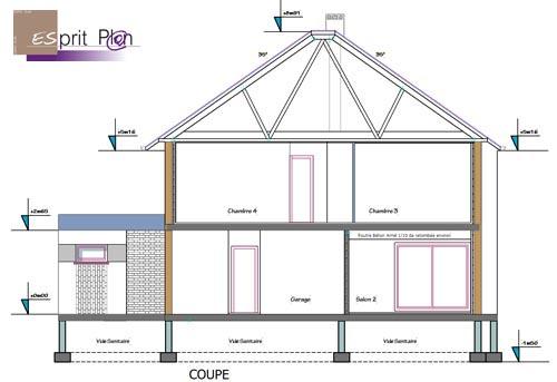 plan permis de construire garage maison fran ois fabie. Black Bedroom Furniture Sets. Home Design Ideas