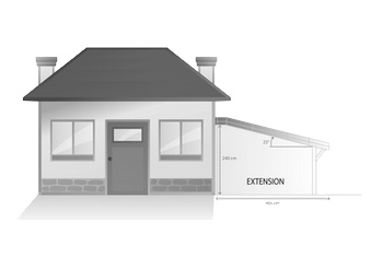 cout construction garage 20m2 maison fran ois fabie. Black Bedroom Furniture Sets. Home Design Ideas