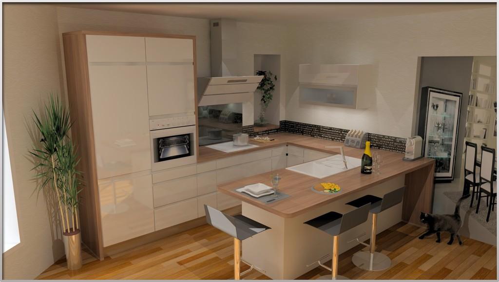 plan cuisine en 3d maison fran ois fabie. Black Bedroom Furniture Sets. Home Design Ideas