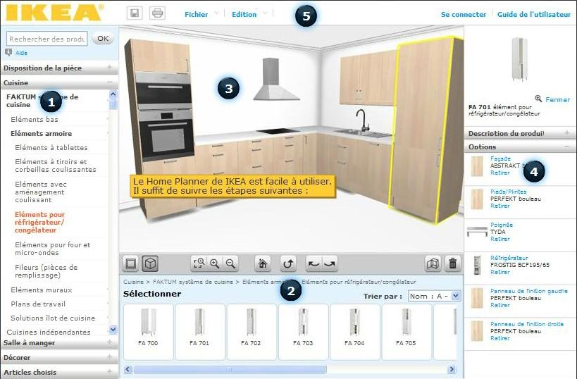 logiciel de conception cuisine maison fran ois fabie. Black Bedroom Furniture Sets. Home Design Ideas