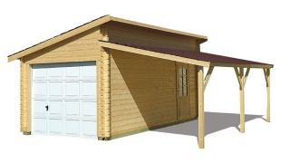 plan garage bois gratuit maison fran ois fabie. Black Bedroom Furniture Sets. Home Design Ideas