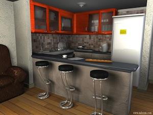 concevoir une cuisine en 3d maison fran ois fabie. Black Bedroom Furniture Sets. Home Design Ideas