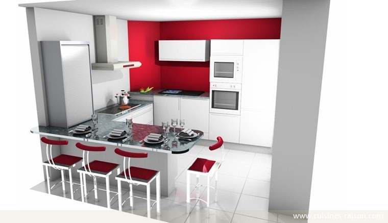 concevoir sa cuisine 3d maison fran ois fabie. Black Bedroom Furniture Sets. Home Design Ideas