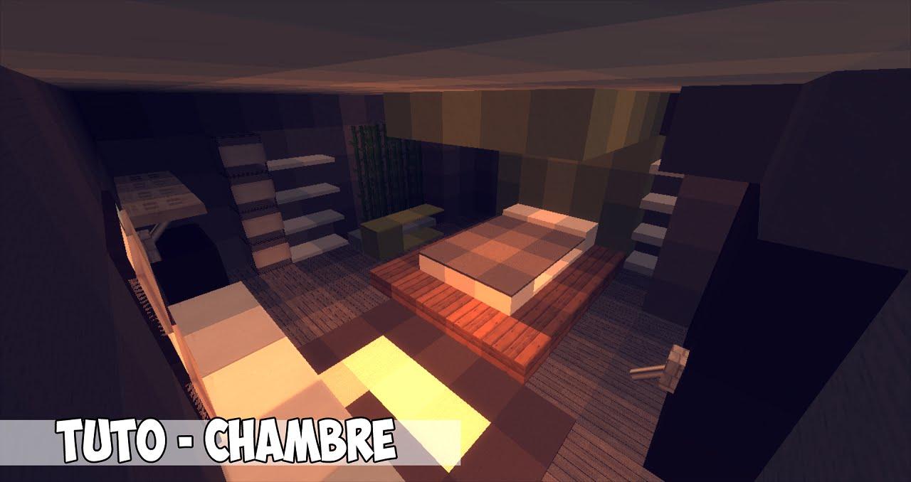 Minecraft chambre moderne maison fran ois fabie Chambre minecraft
