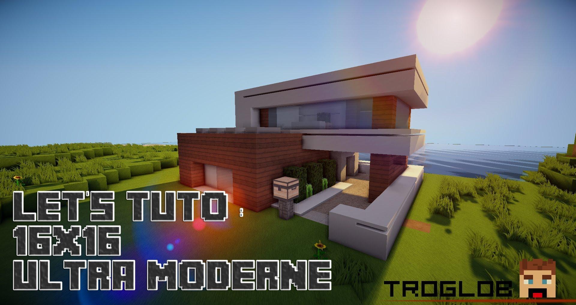 Comment faire une petite maison moderne dans minecraft for Comment faire une petite maison minecraft
