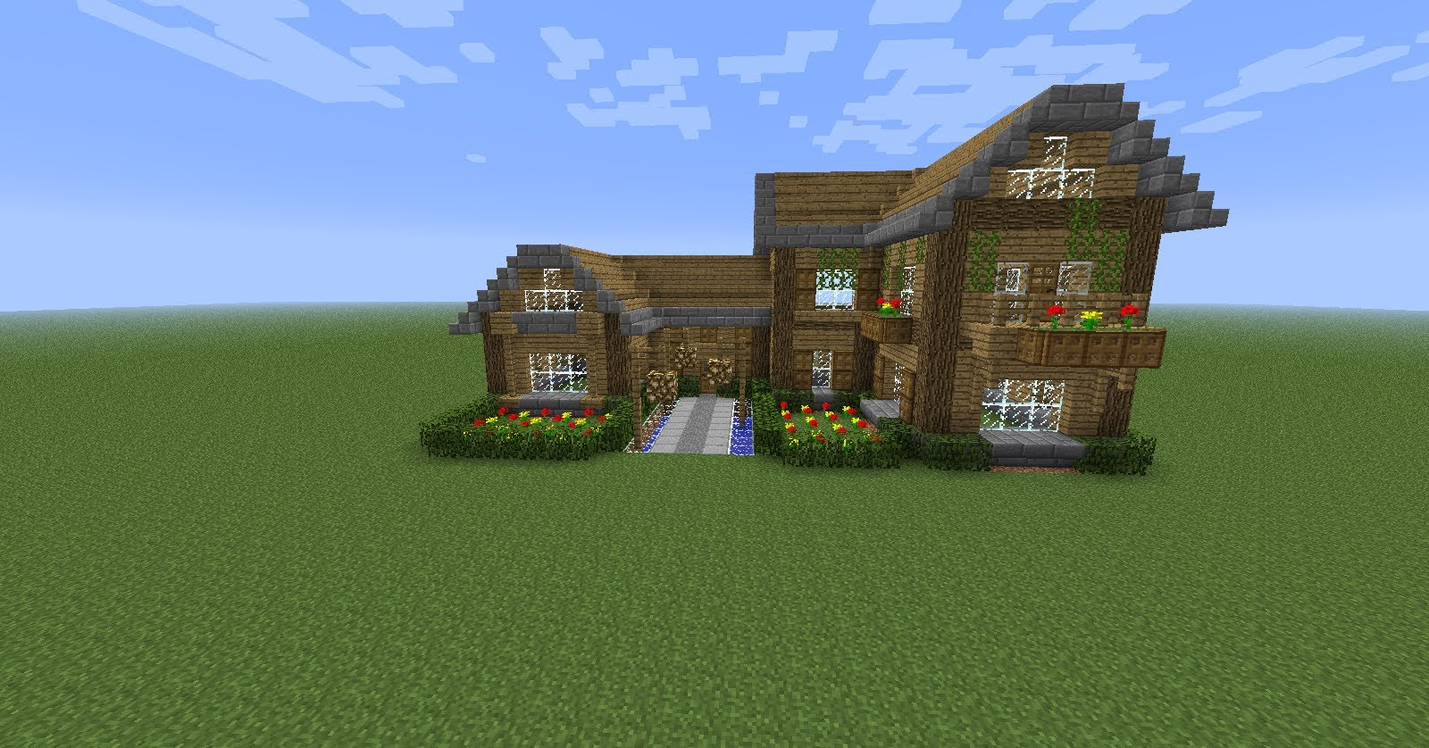Construire une belle maison minecraft avie home - Construire une belle maison ...