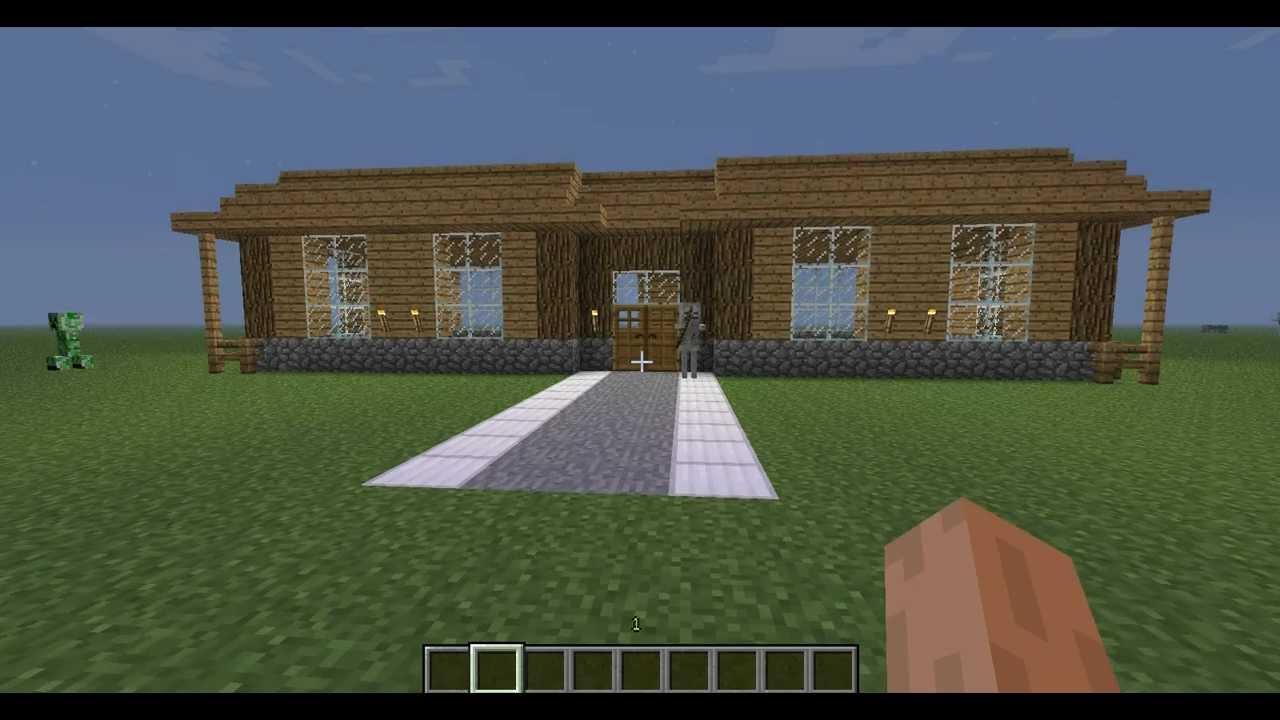 Maison simple minecraft maison fran ois fabie for Maison simple